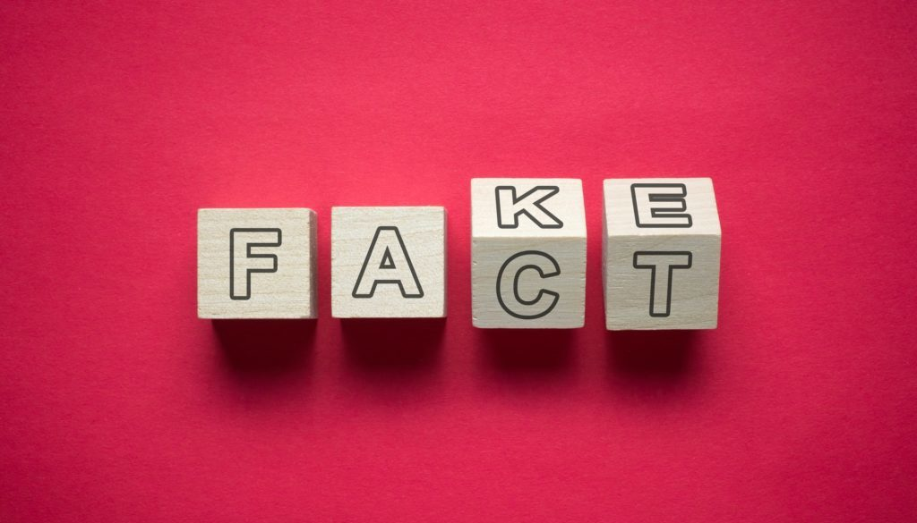 Fact and fake confusion