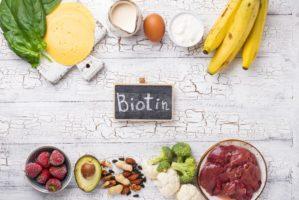 Natural sources of vitamin B7 biotin